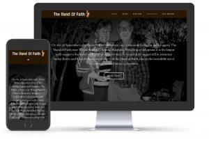 Hand of Faith Website by Lance Hillier Web Design